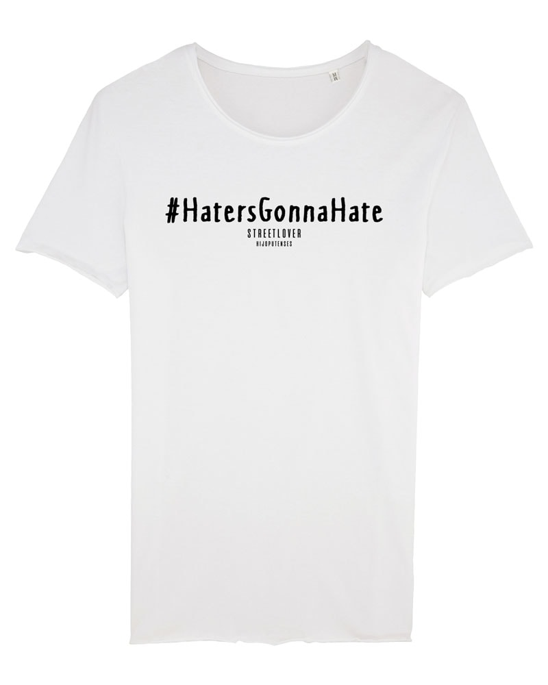 camiseta hombre haters gonna hate